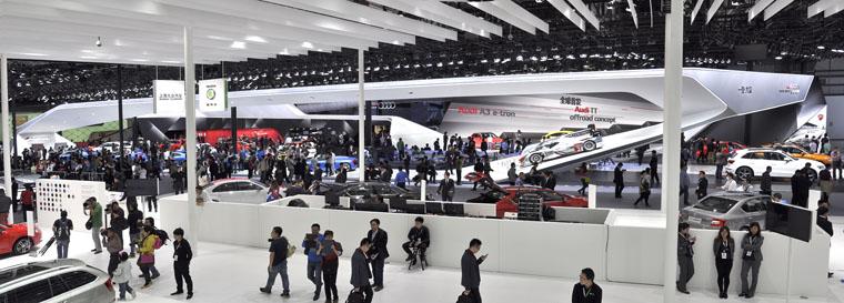 2014年北京国际车展奥迪展台