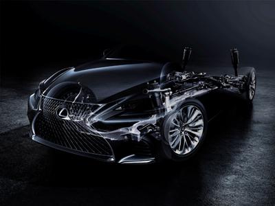 全新雷克萨斯LS旗舰级豪华轿车将于2017北美国际车展全球首发