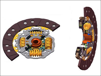 舍弗勒新型离合器从动盘问世