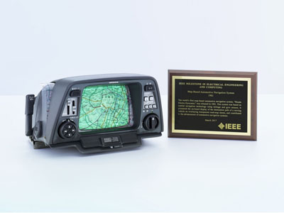 本田地图型车载导航系统获IEEE认证