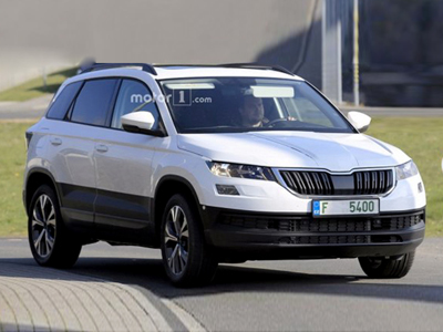 5月18日首发  斯柯达全新紧凑型SUV谍照