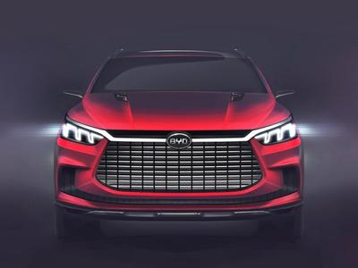 比亚迪王朝概念车新预告图发布