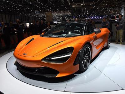 720S/570GT限量版  迈凯伦上海车展阵容