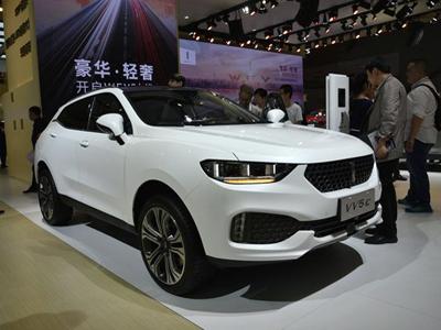 2017上海车展:WEY VV5车型首次亮相