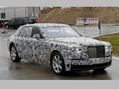 全铝车身  全新劳斯莱斯幻影将年底亮相