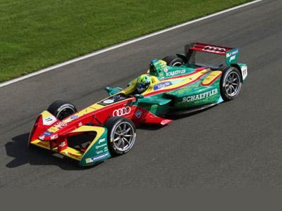 奥迪正式加入Formula E纯电方程式赛