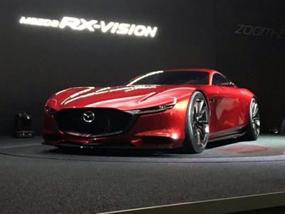 马自达全新转子概念车将于10月下旬发布