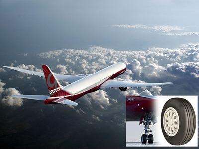 固特异超轻子午线航空轮胎率先获波音供应资质并配备777X机型