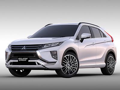 1月迎首秀  三菱3款官方改装SUV官图发布