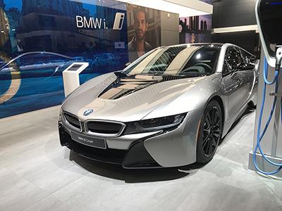 2018北美车展:新款宝马i8 Coupe发布