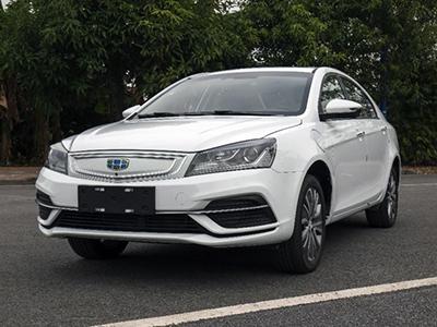 预计3月上市  新款帝豪EV内饰实车图