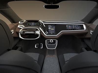 2018 CES:佛吉亚发布未来数字化驾驶舱