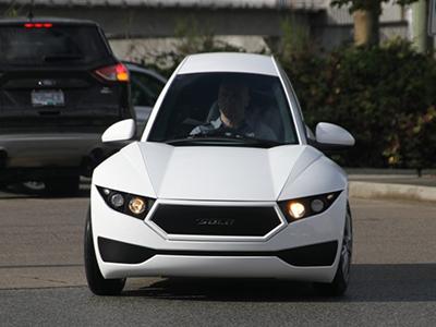 2018 CES:三轮纯电动车Solo首次发布