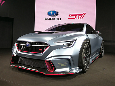 东京改装展:斯巴鲁全新STI概念车发布
