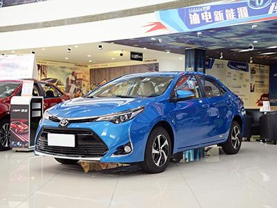 售12.98万 丰田雷凌新增CVT豪华版车型
