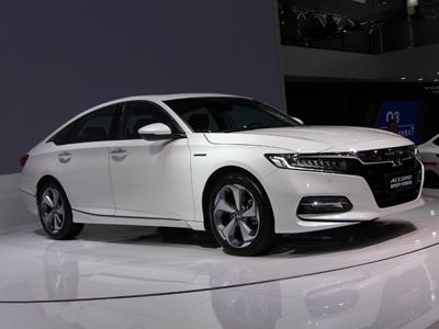 本田雅阁混动版北京车展首发亮相  新车预计9月上市