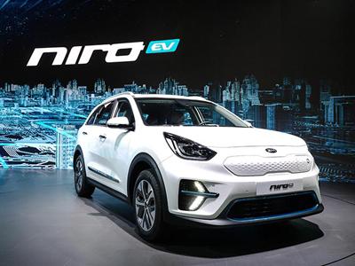 釜山车展起亚公开电动车Niro EV和概念车SP