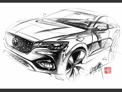 名爵HS诞生  MG X-motion Concept概念车量产版正式定名