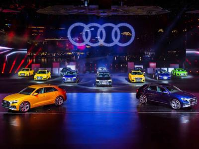 奥迪旗舰级SUV奥迪Q8全球首发