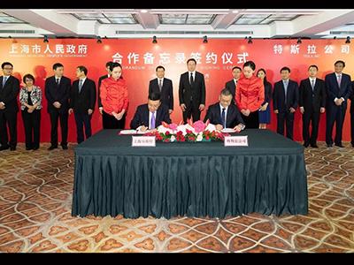 年产50万辆规模 特斯拉在上海独资建厂