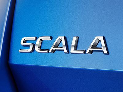 """寓意""""更上一层楼"""" 斯柯达新车定名SCALA"""