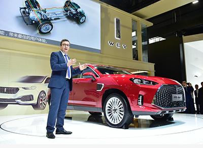 VV5终结版、P8 GT WEY品牌多款杰作共同亮相广州车展