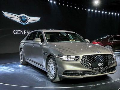 中网造型独特 新款Genesis G90正式亮相