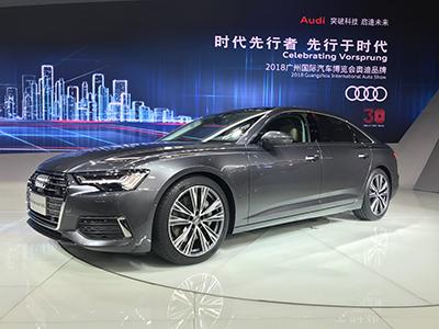 全新奥迪A6L正式亮相2018广州车展