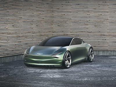 双门两座 Genesis全新纯电动概念车官图