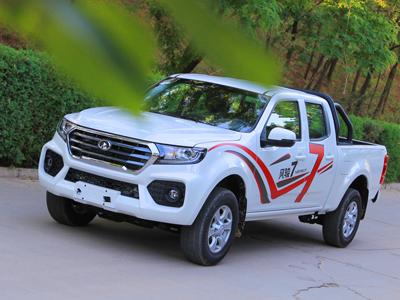中国首款国六B皮卡风骏7汽油版上市  售价8.68万-12.38万
