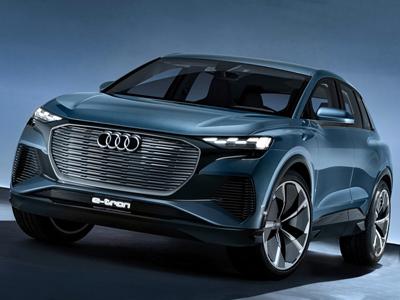 奥迪Q4 e-tron亮相2020年CES  奥迪电动车再加速