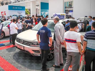 沪上车市喜迎客  上汽追加400台五五折新能源车