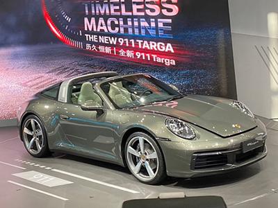 一个半敞篷的诱惑全新保时捷911 Targa国内首秀150万起售