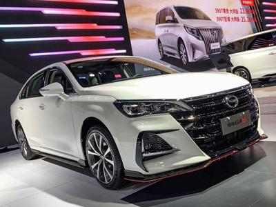 广汽传祺GA6运动版成都车展首发