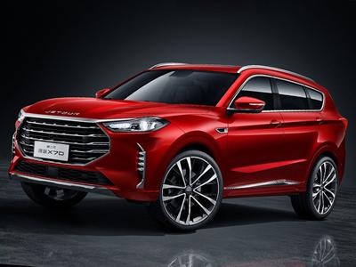 捷途发布新款X70官图 新车将于北京车展首发