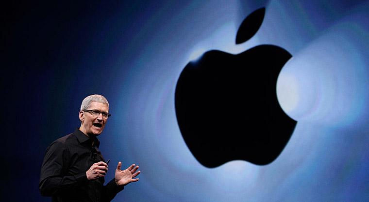 苹果公司现任首席执行官蒂姆•库克