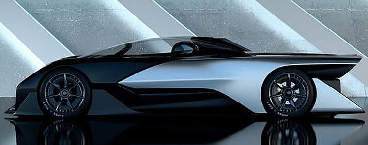 乐视携手法拉第未来发布的Zero1概念车