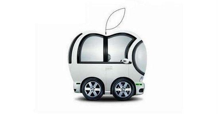 网友设计的苹果汽车调侃图