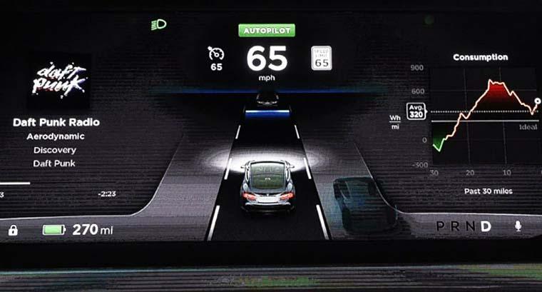 特斯拉发布自动驾驶功能 自动驾驶时代来临