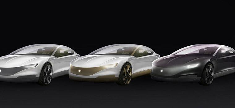 网络上流传的苹果汽车想象图
