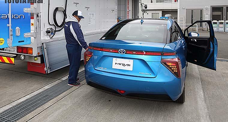 氢能源汽车走出概念 交付海外客户