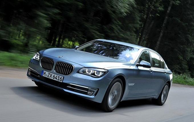 BMW 7xihaohuajiaoche