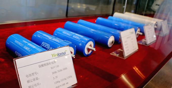 珠海银隆钛酸锂电池