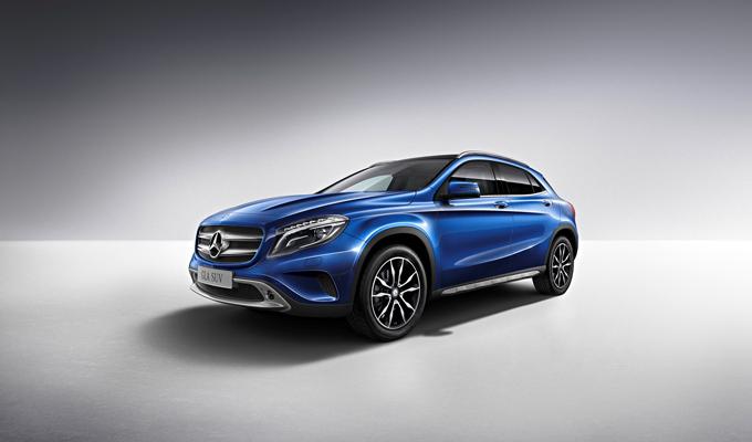 梅赛德斯-奔驰GLA SUV蓝调版是梅赛德斯-奔驰在华推出的首款国产限量特别版车型