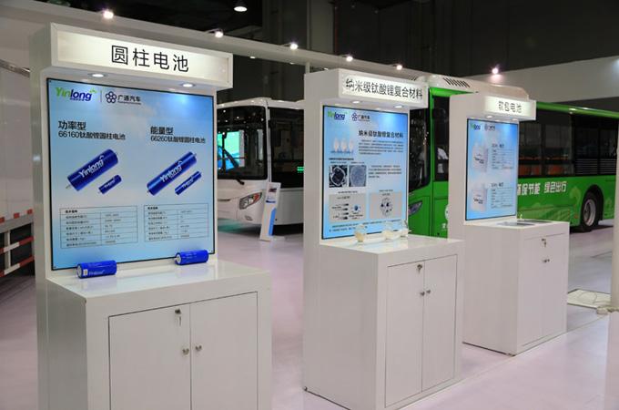 银隆钛核心技术以及电池产品展示