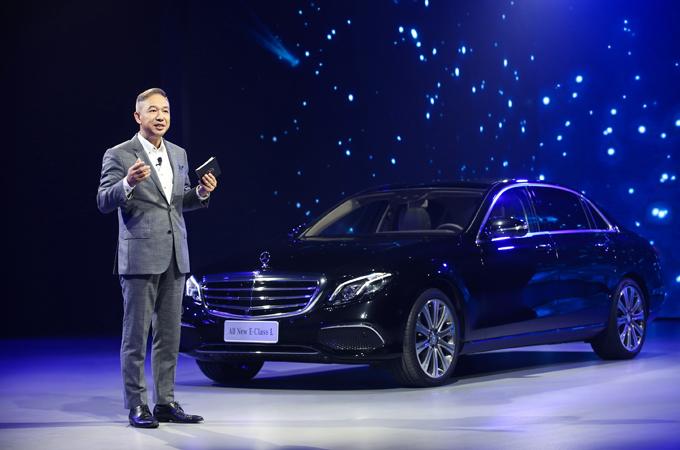 北京梅赛德斯-奔驰销售服务有限公司东区总经理聂军先生讲话