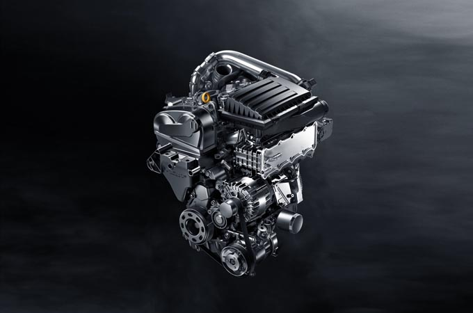 280TSI涡轮增压发动机