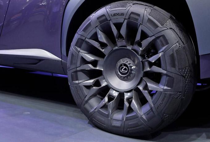 """固特异""""都市跨界""""概念轮胎"""
