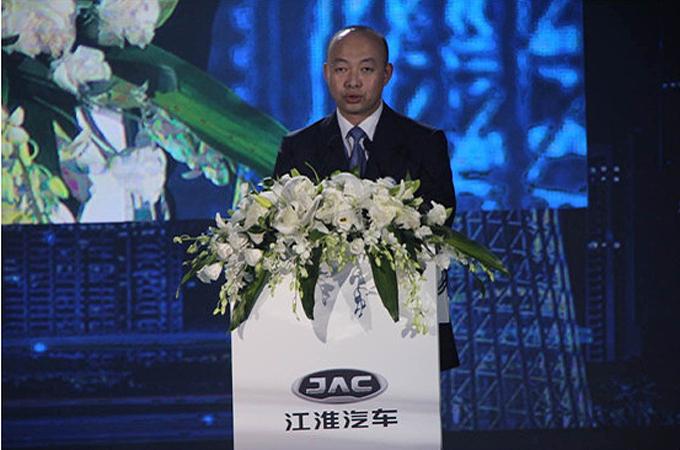 江淮汽车副总经济师、江淮乘用车营销公司副总经理李建华先生致辞