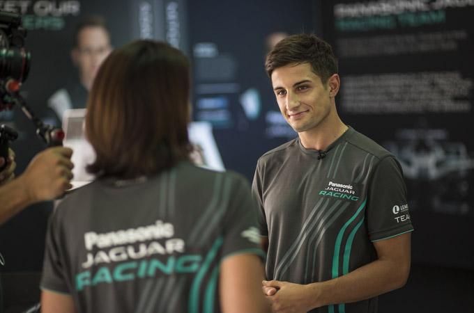 捷豹车队Formula E第三赛季主力车手Mitch Evans